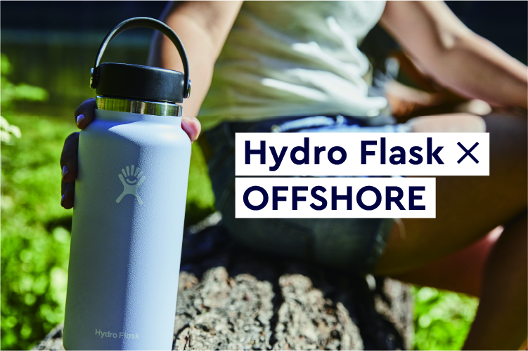 Hydro Flask × OFFSHORE