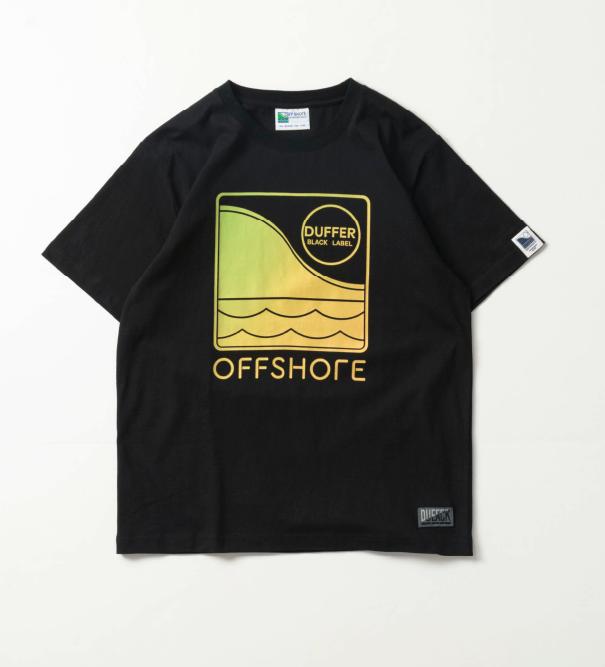 OFFSHORE × DUFFER S/S TEE