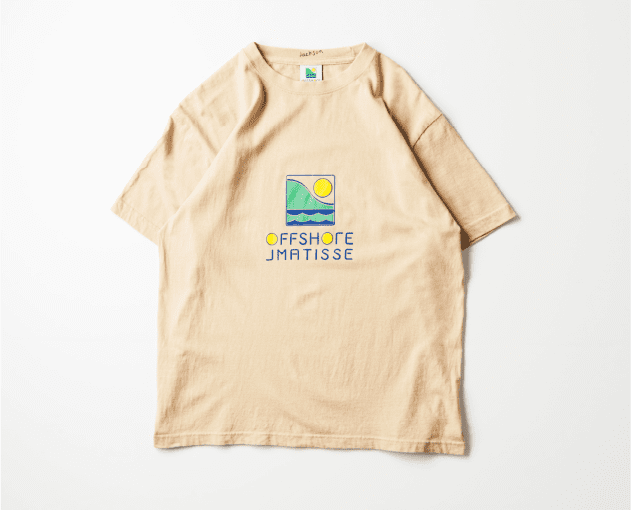 OFFSHORE × JM LOGO TEE